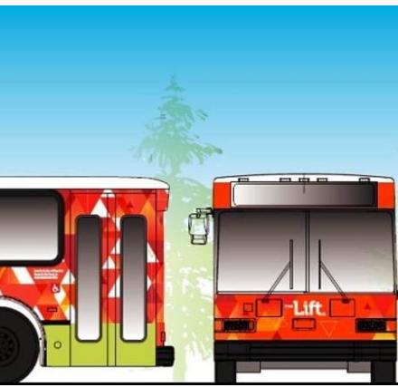 The Lift free Winter Park & Fraser Shuttle Bus