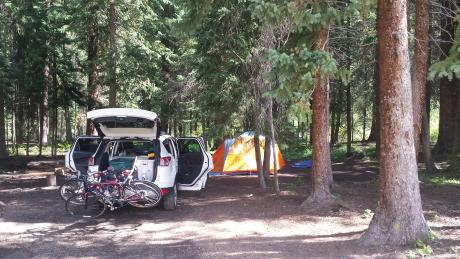 Car Camping in Winter Park, Colorado