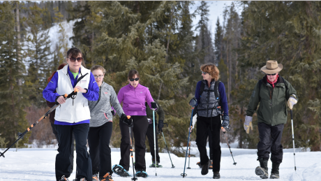 Group Snowshoe