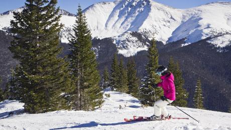 Scenic Skiing at Winter Park Resort