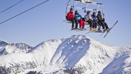 Scenic Ski Lift Ride at Winter Park Resort