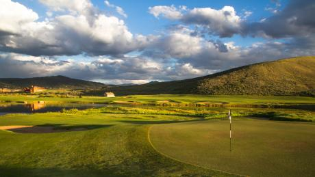 Grand Elk Golf Course in Granby near Winter Park, Colorado