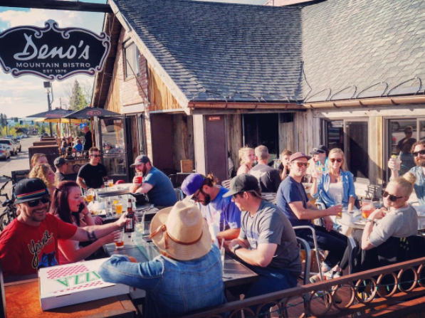 Deno's Mountain Bistro Patio Season