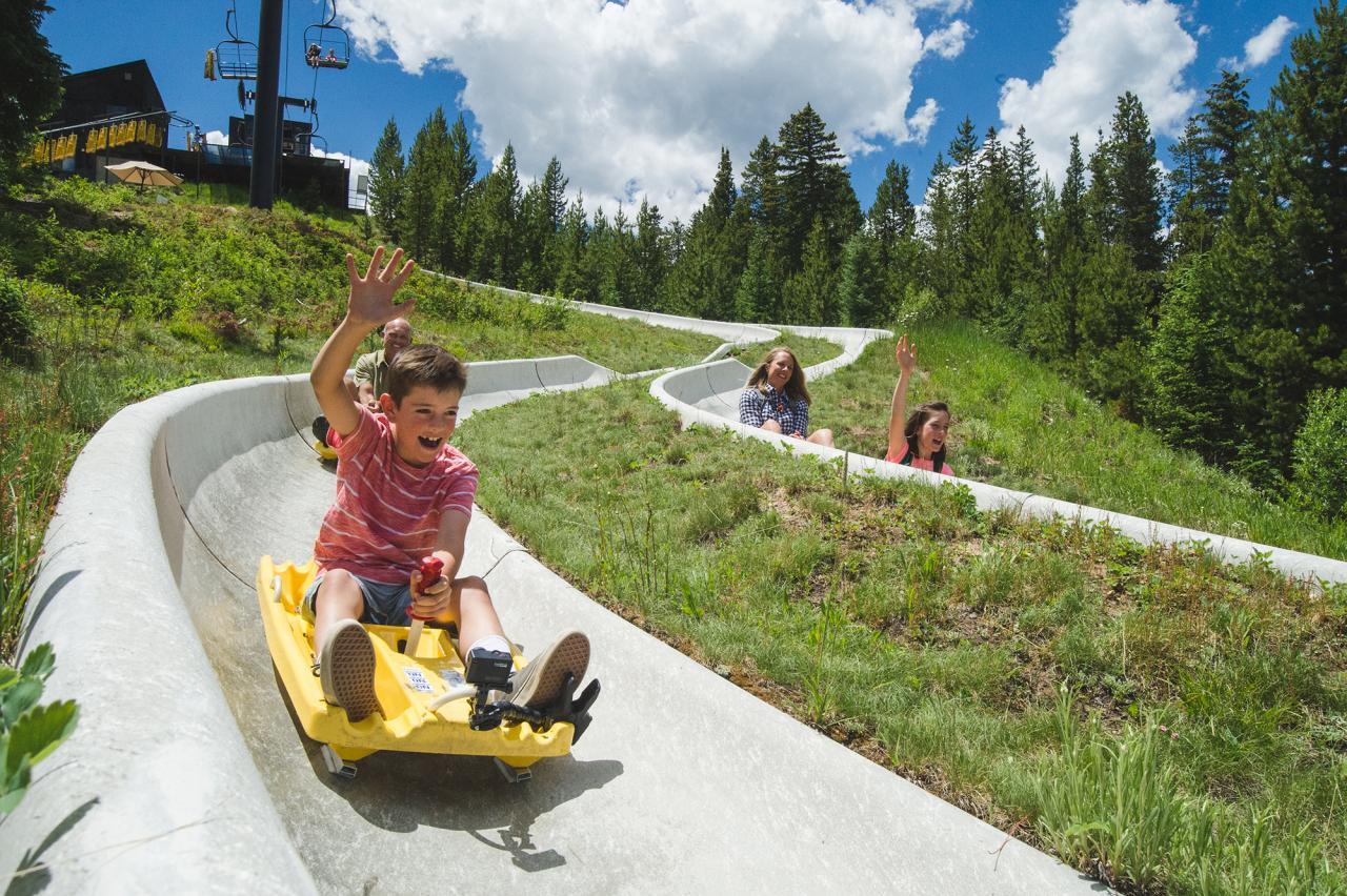 Colorado's longest Alpine Slide at Winter Park Resort