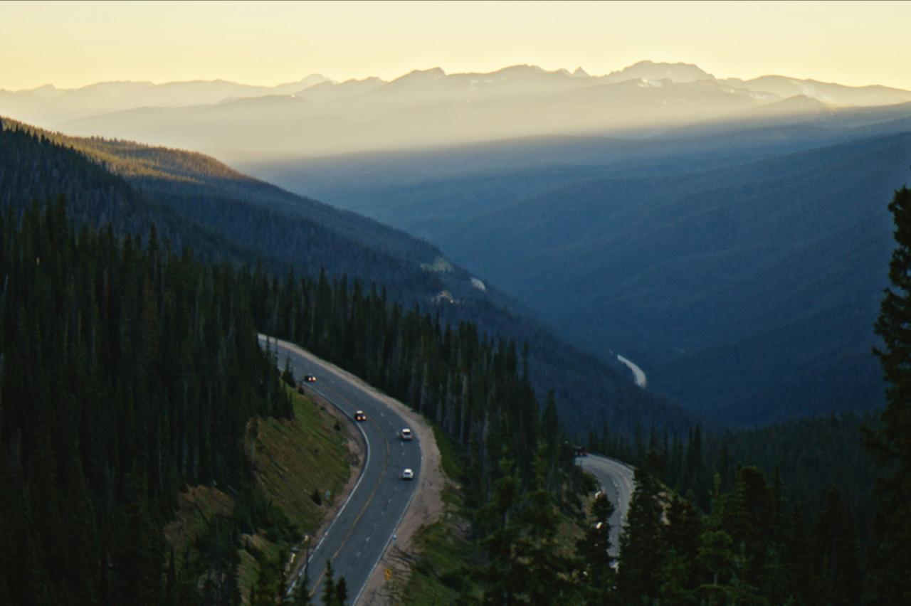Berthoud Pass is the scenic way to get to Winter Park, Colorado