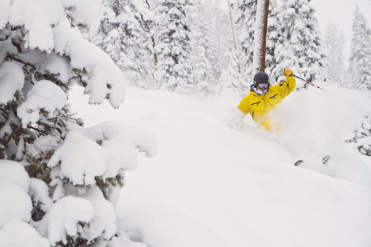 Powder Day at Winter Park Ski Resort in Colorado