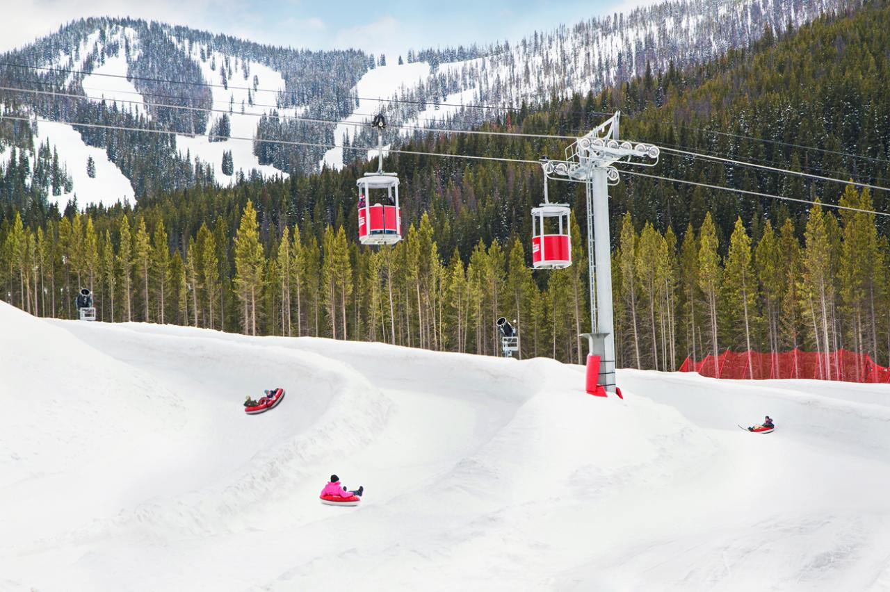 Cola-Coca Tubing Hill at Winter Park Resort