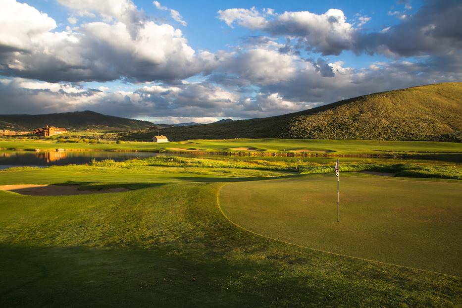 Grand Elk Golf Course in Granby near Winter Park, Colorado