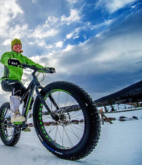 Fat Biking near Winter Park, Colorado