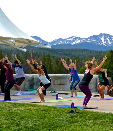 Fitness in the Park in Winter Park, Colorado