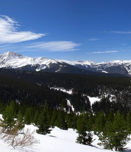 Winter Park, Colorado Panoranic View