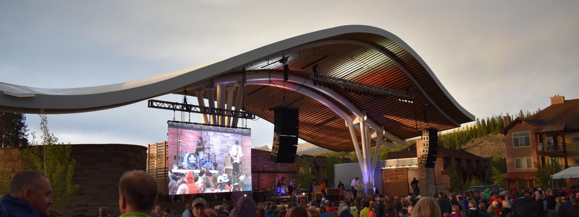 Hideaway Park Stage