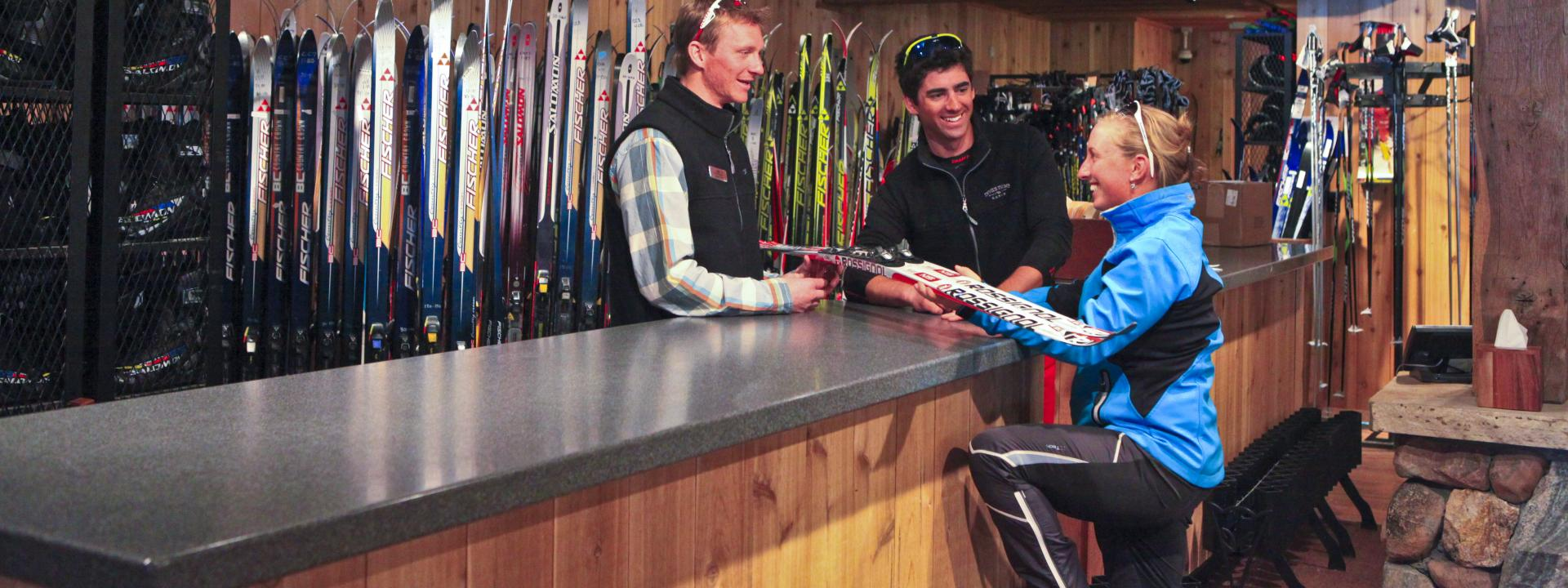 Cross Country Ski Rentals in Winter Park, Colorado