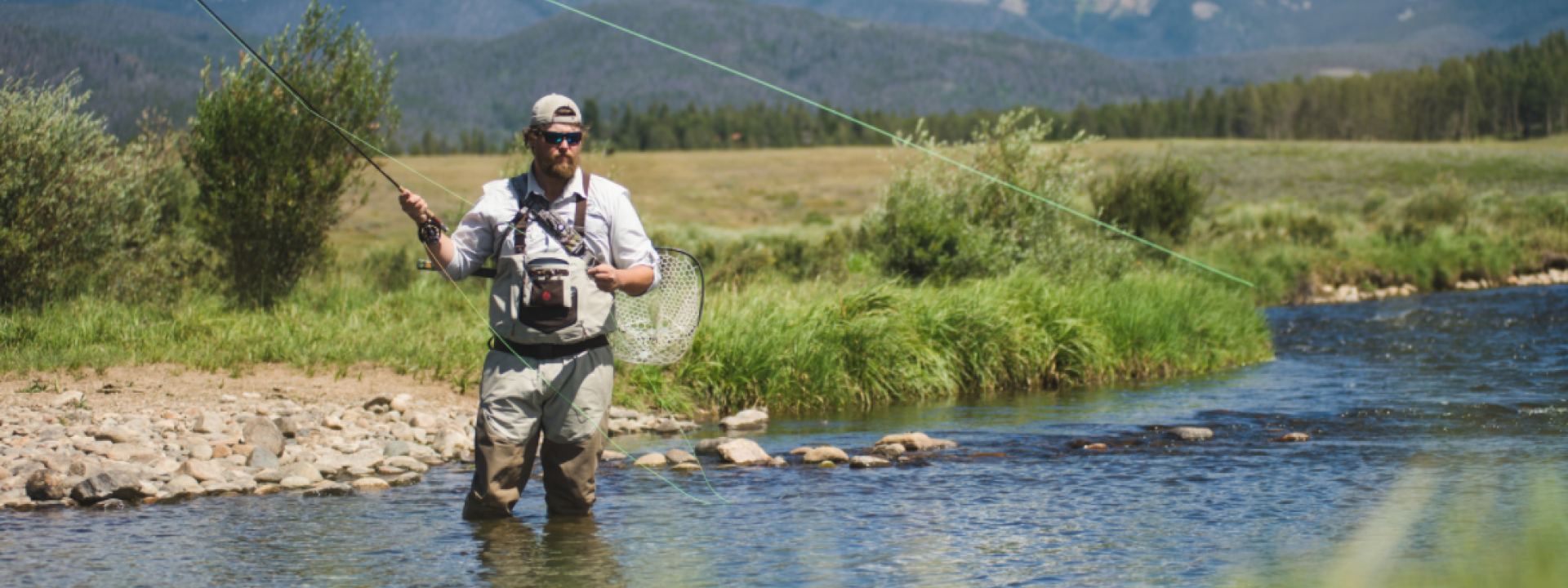 Fly Fishing Devil's Thumb Ranch
