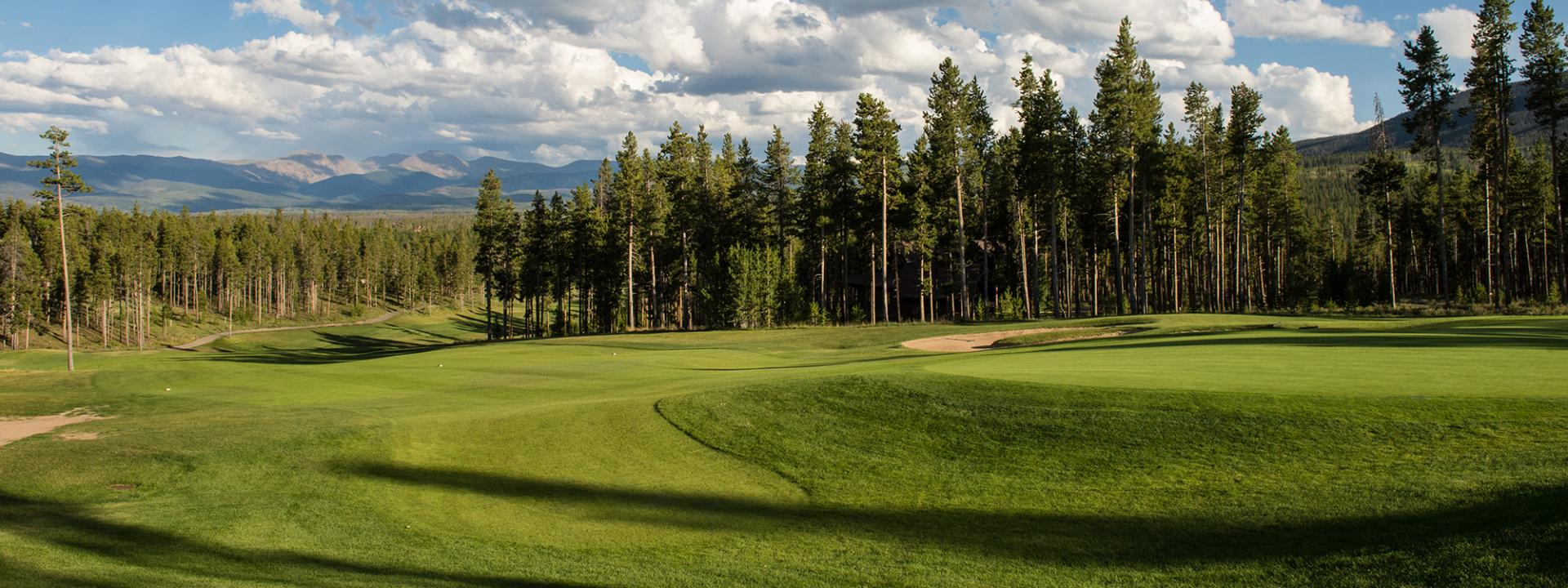 Pole Creek Golf Course in Winter Park, Colorado