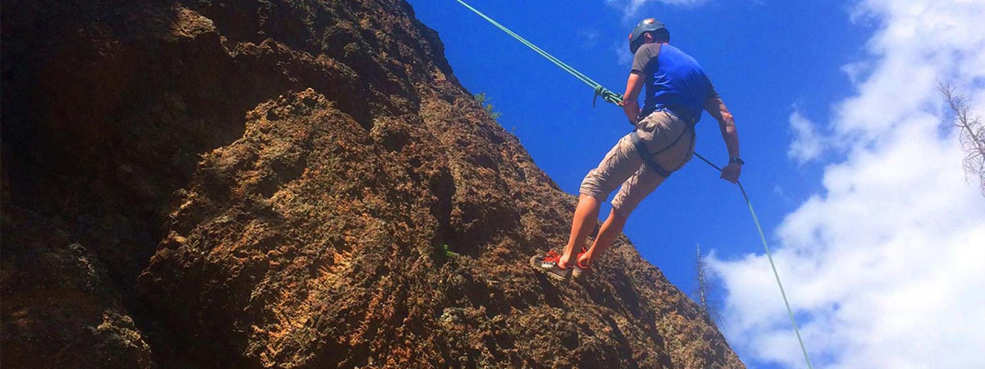 Rock Climbing Winter Park