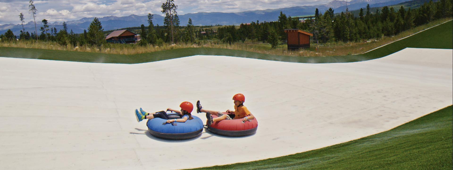 Summer Tubing at Snow Mountain Ranch-YMCA of Rockies