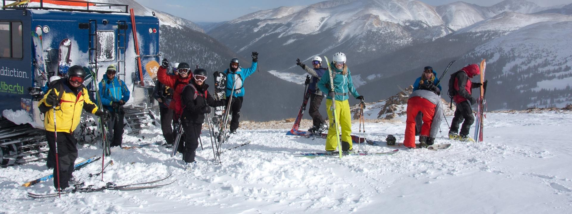 Colorado's best snowcat skiing and snowboarding adventure near Winter Park, Colorado