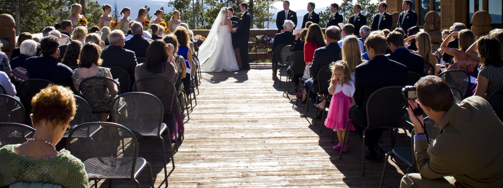 Have your wedding, event, reunion or meeting in Winter Park, Colorado