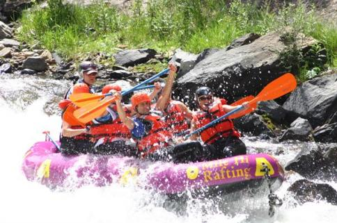 rafting June & July