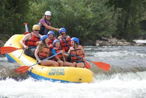 Fun beginner on Clear Creek with Mile Hi