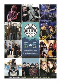 Blues from the Top artists Grand County Blues Society
