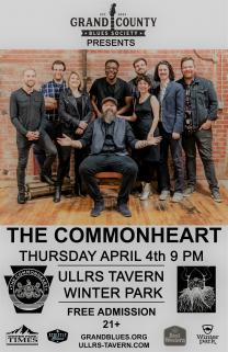 Commonheart April 4 Grand County Blues Show