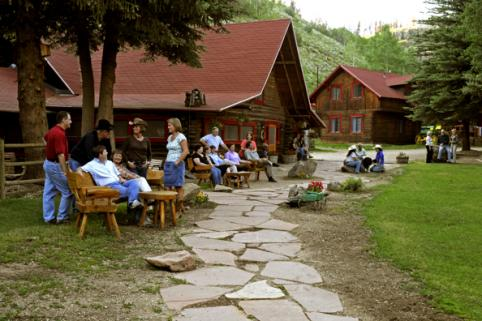 Main Lodges at Drowsy Water Ranch