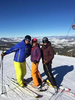 Family ski break!