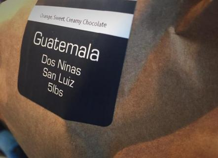 Our coffee beans are fairly traded from a single farm in Guatemala