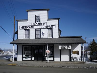 Located in the Historic Fraser Mercantile Building.