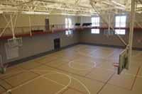 Gymnasium at Grand Park COmmunity Recreation Center