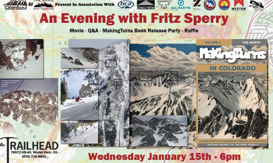 An Evening with Fritz Sperry at Trailhead