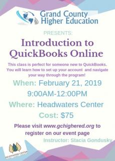 Introduction to QB at GCHigher Ed