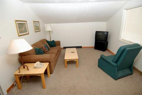 2 Bedroom unit - Living room