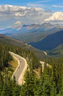 Berthoud Pass in the Summer