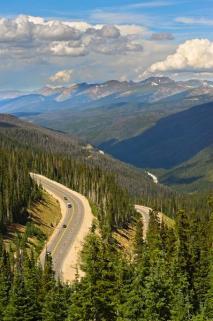 Berthoud Pass in the Summer