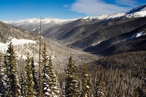 Berthoud Pass in the Winter