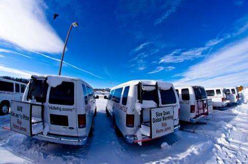 The Winter fleet with a little fresh powder!