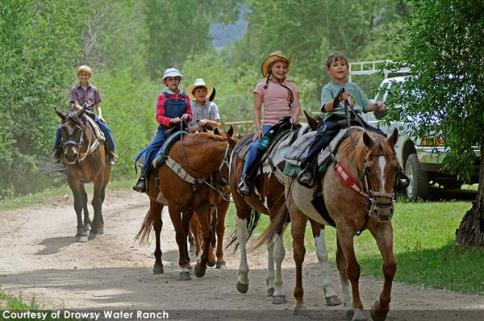Family fun at one of our guest ranches