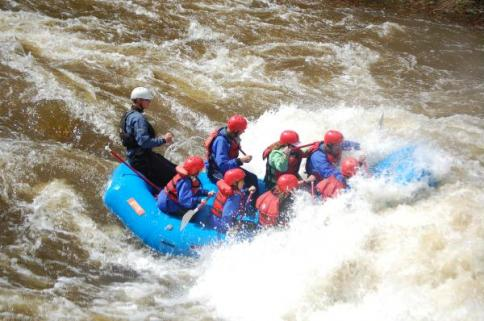 Whitewater Rafting with MAD Adventures!