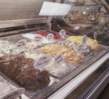 locally made gelato