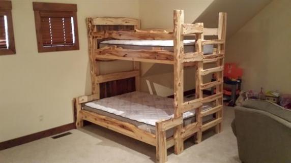 Aspen Bunk bed, twin over full
