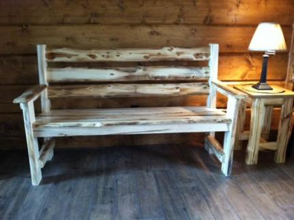 Indoor and outdoor benches crafted to any size.