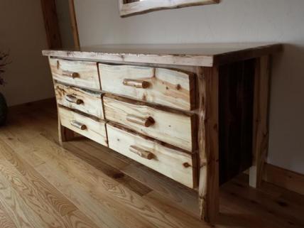 Aspen/ maple Dressers built to order.