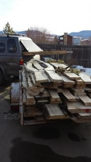 One of the hauls of local Aspen soon to become beautiful furniture.