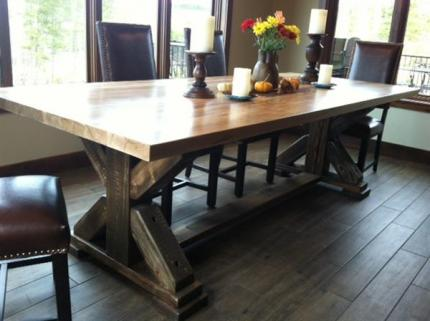 Custom Crafted Dinning Room Tables for any occasion.
