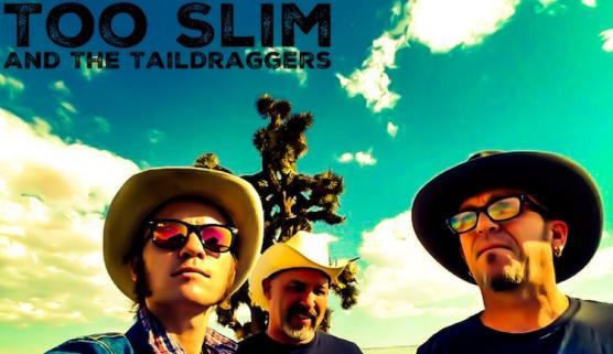 Too Slim & The Taildraggers New Years Eve 2017 presented by the Grand County Blues Society at Smokin' Moe's