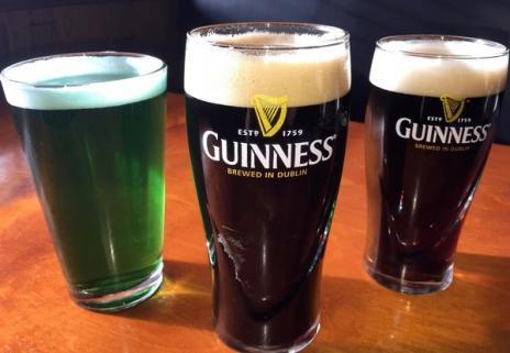 green beer at Randi's