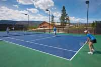 Play some tennis on our tennis courts